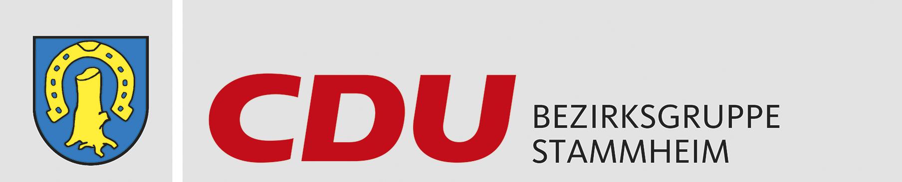 Logo von CDU Bezirksgruppe Stuttgart-Stammheim