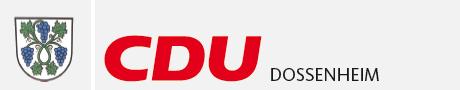 Logo von CDU Dossenheim