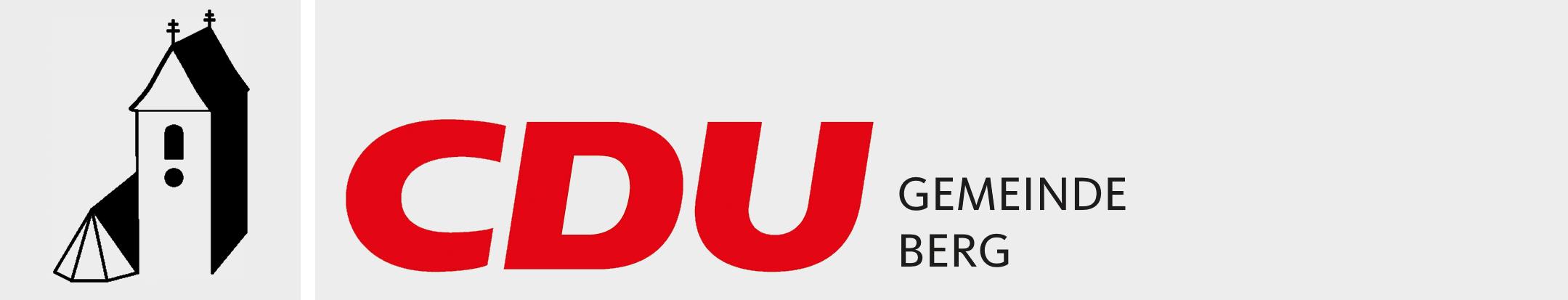 Logo von CDU-Gemeindeverband Berg