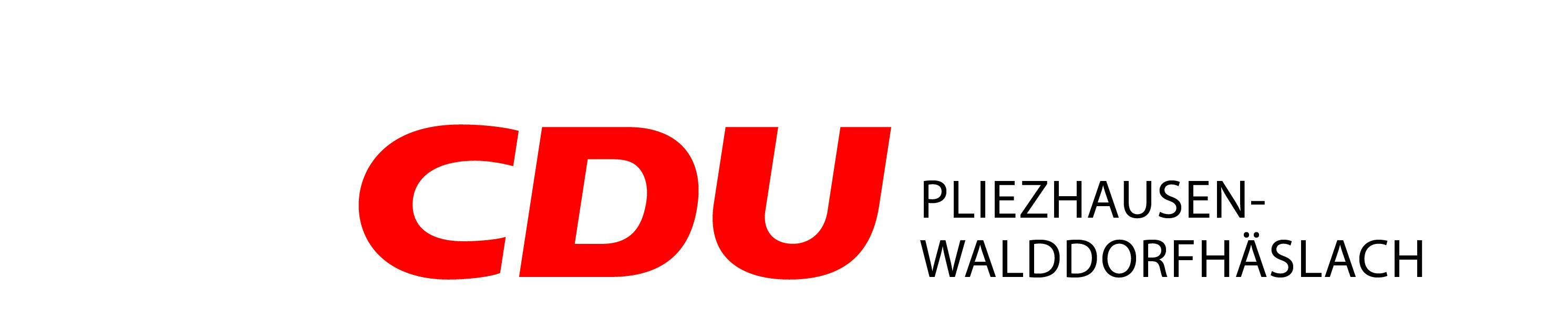 Logo von CDU Pliezhausen-Walddorfhäslach